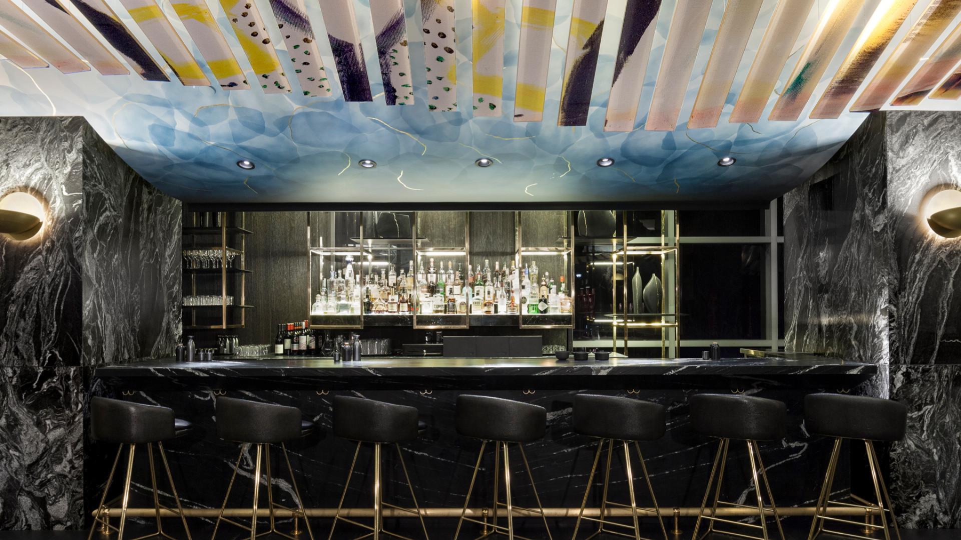The cocktail bar at Akira Back