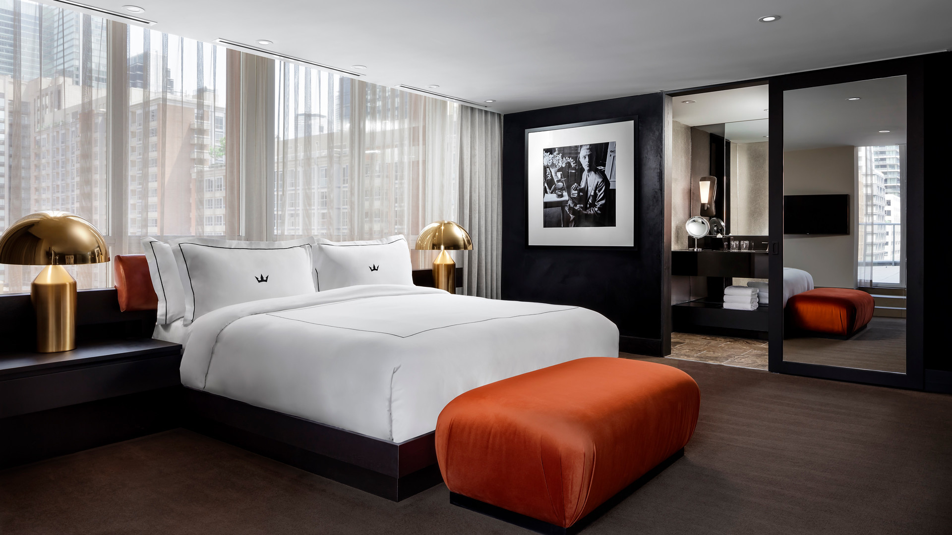 One of the Bisha's guest rooms