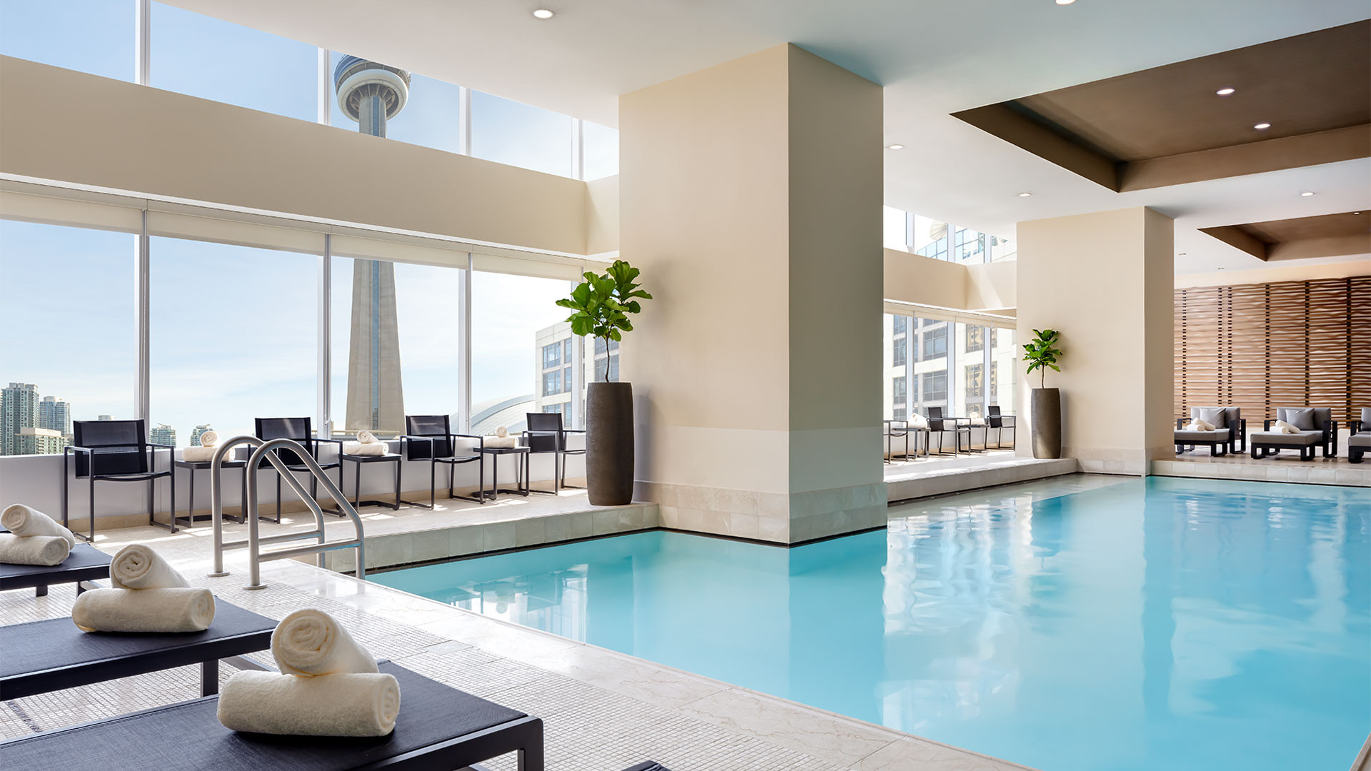 The Ritz-Carlton Hotel Toronto | Saltwater indoor pool
