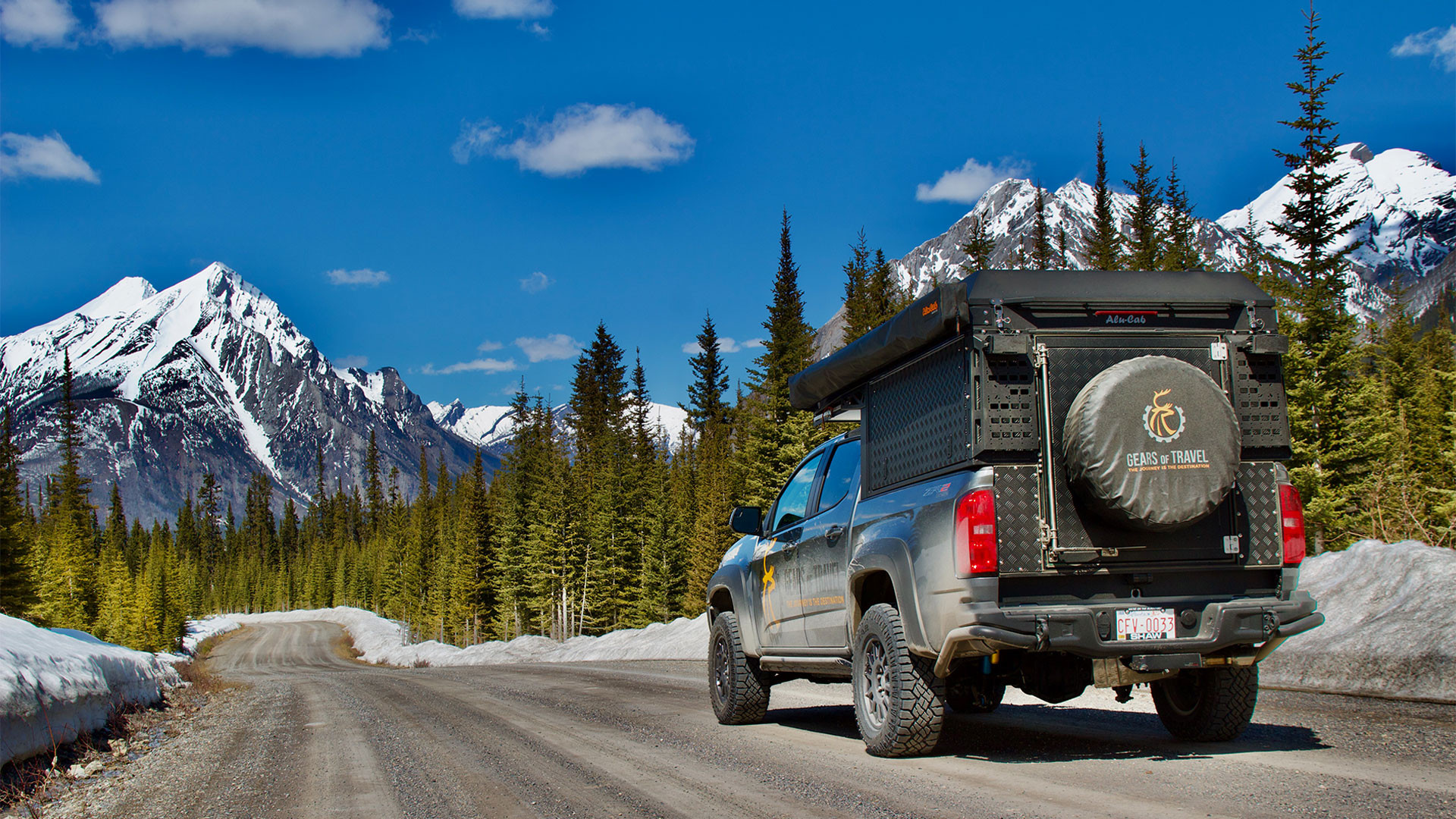 Gears of Travel, Canadian adventure | Chevrolet with canopy camper