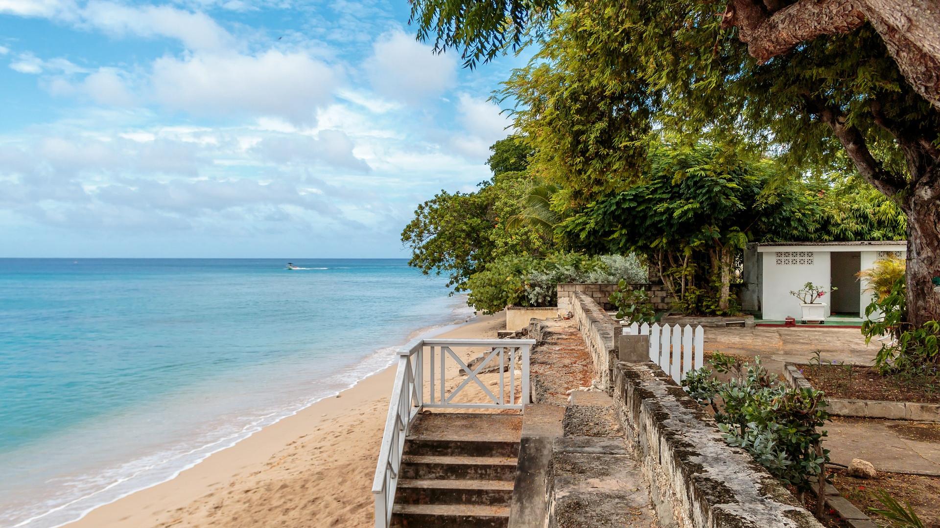 Best restaurants in Barbados: A deserted beach