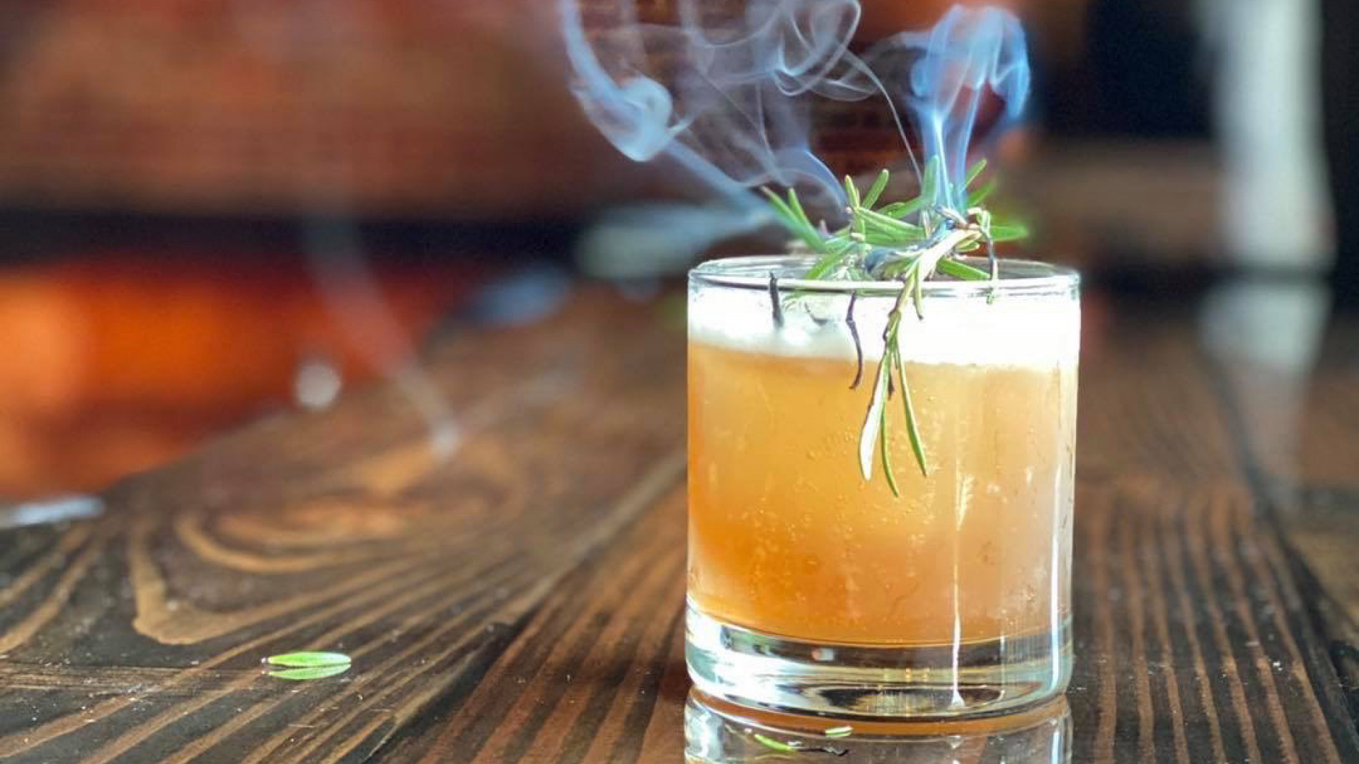 New Hampshire restaurants and activities | A smoking cocktail at 815 Cocktails and Provisions in Manchester