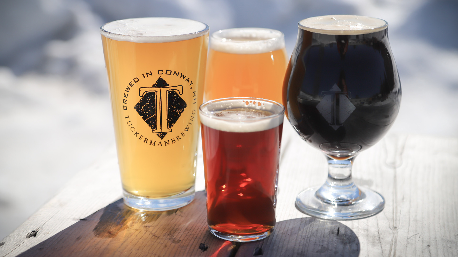 New Hampshire restaurants and activities | Beer from Tuckerman Brewing in Conway New Hampshire