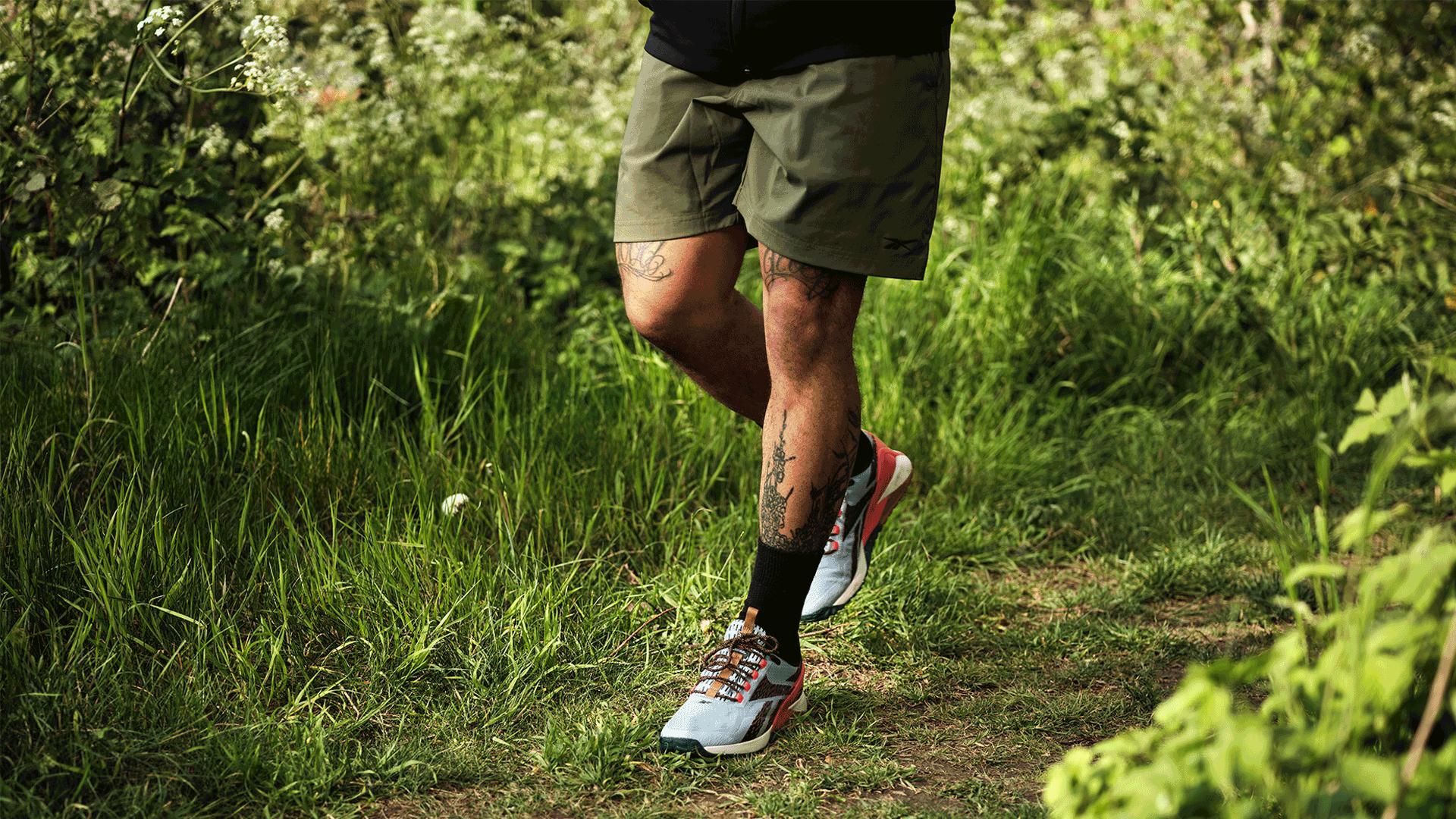 Reebok's Nano X1 Adventure training shoe | Running outdoors