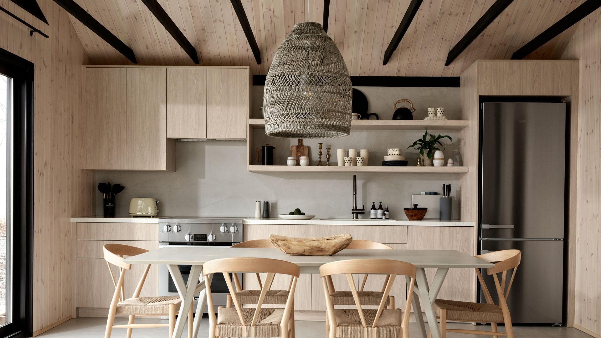 Wander the Resort in Prince Edward County | Inside the spacious kitchen