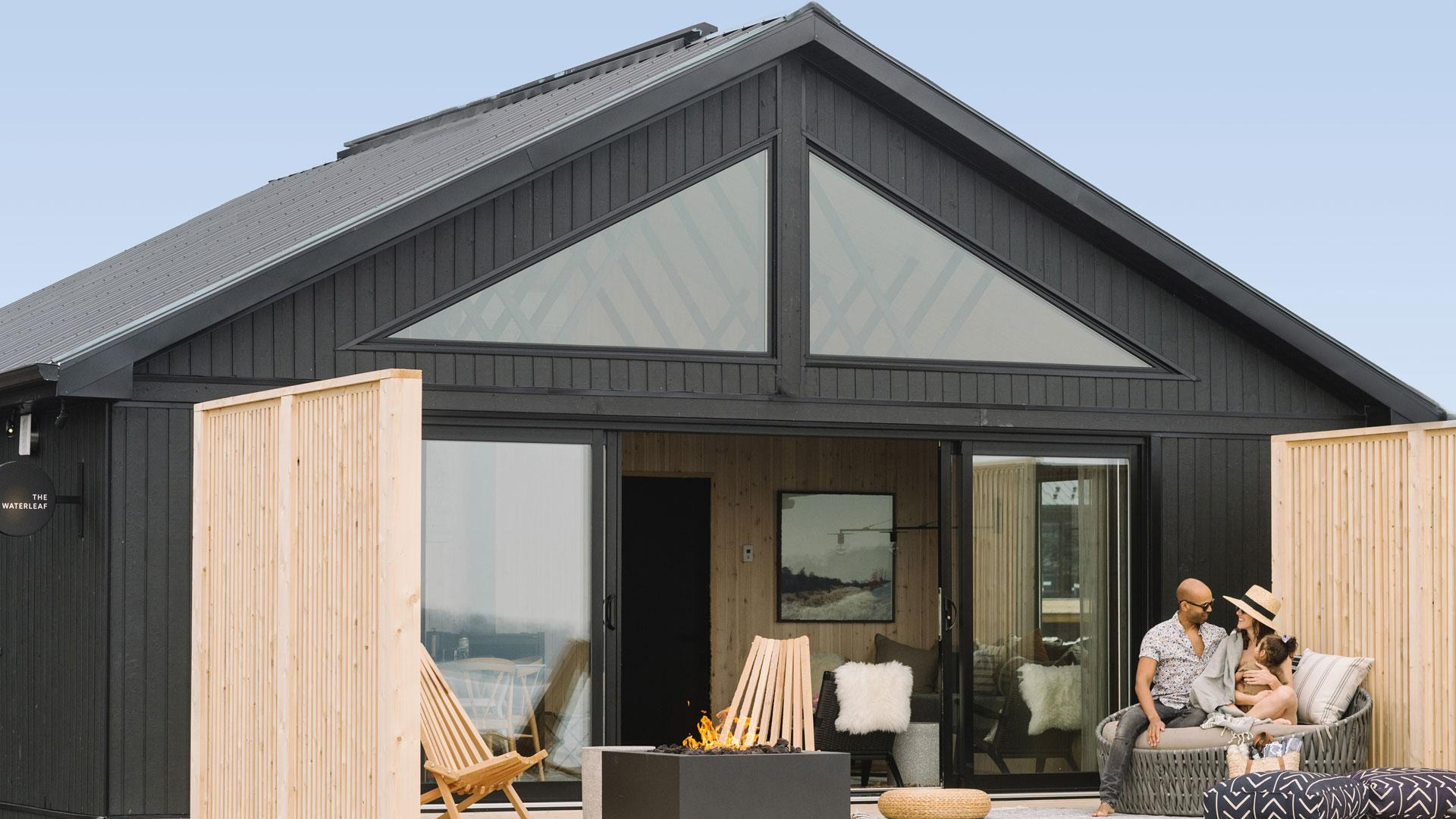 Wander the Resort in Prince Edward County | Outside the cabin