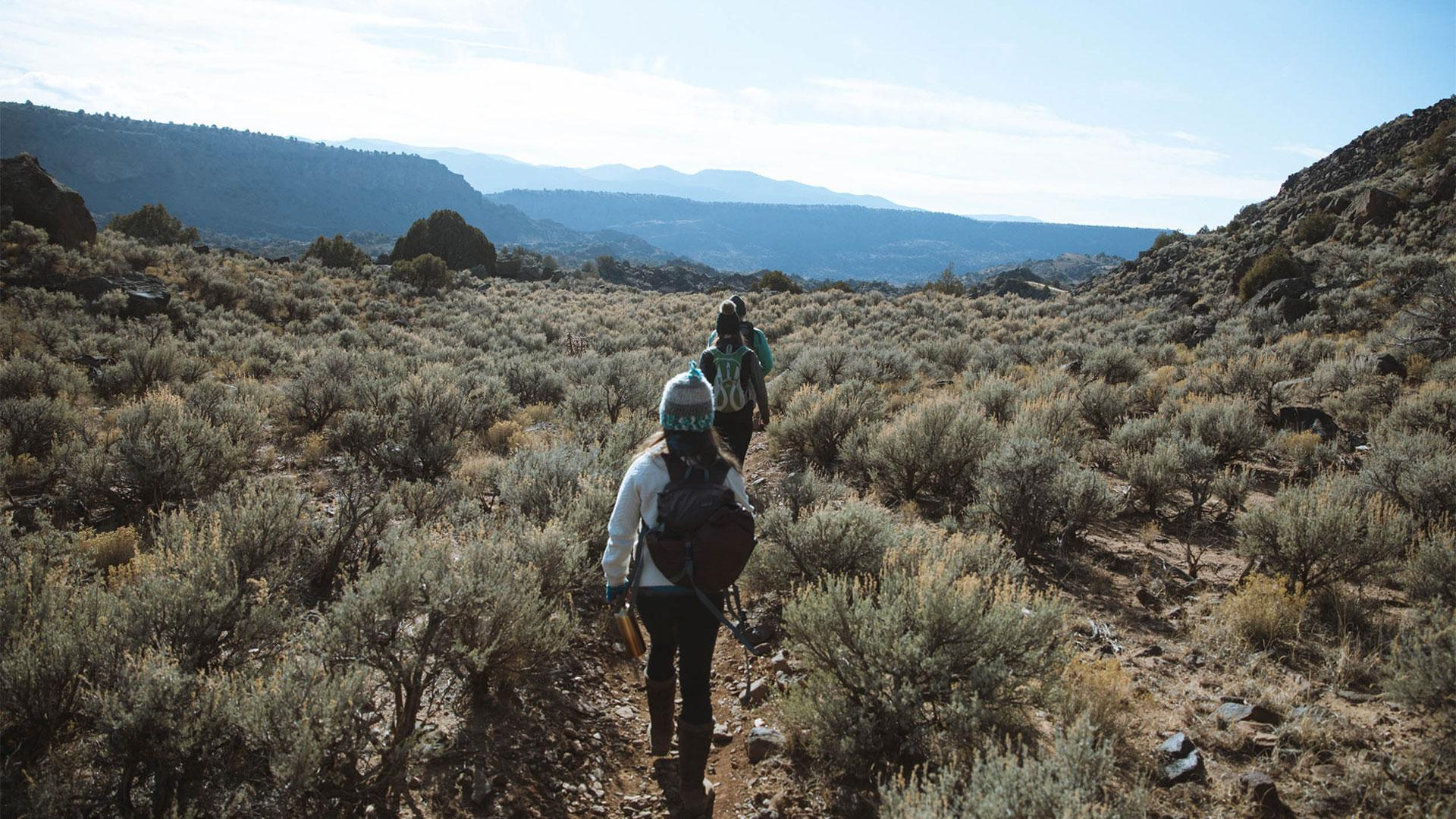 The top things to do in Taos, New Mexico   Hiking through the desert