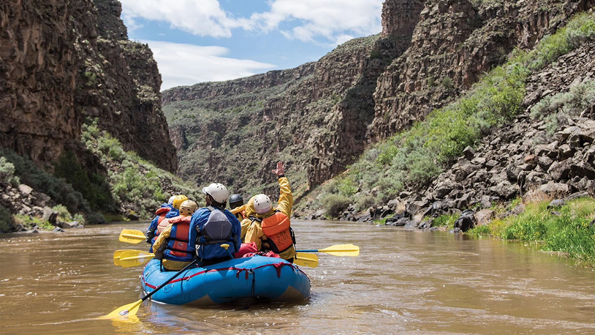 The top things to do in Taos, New Mexico   White water rafting with Los Rios River Runners
