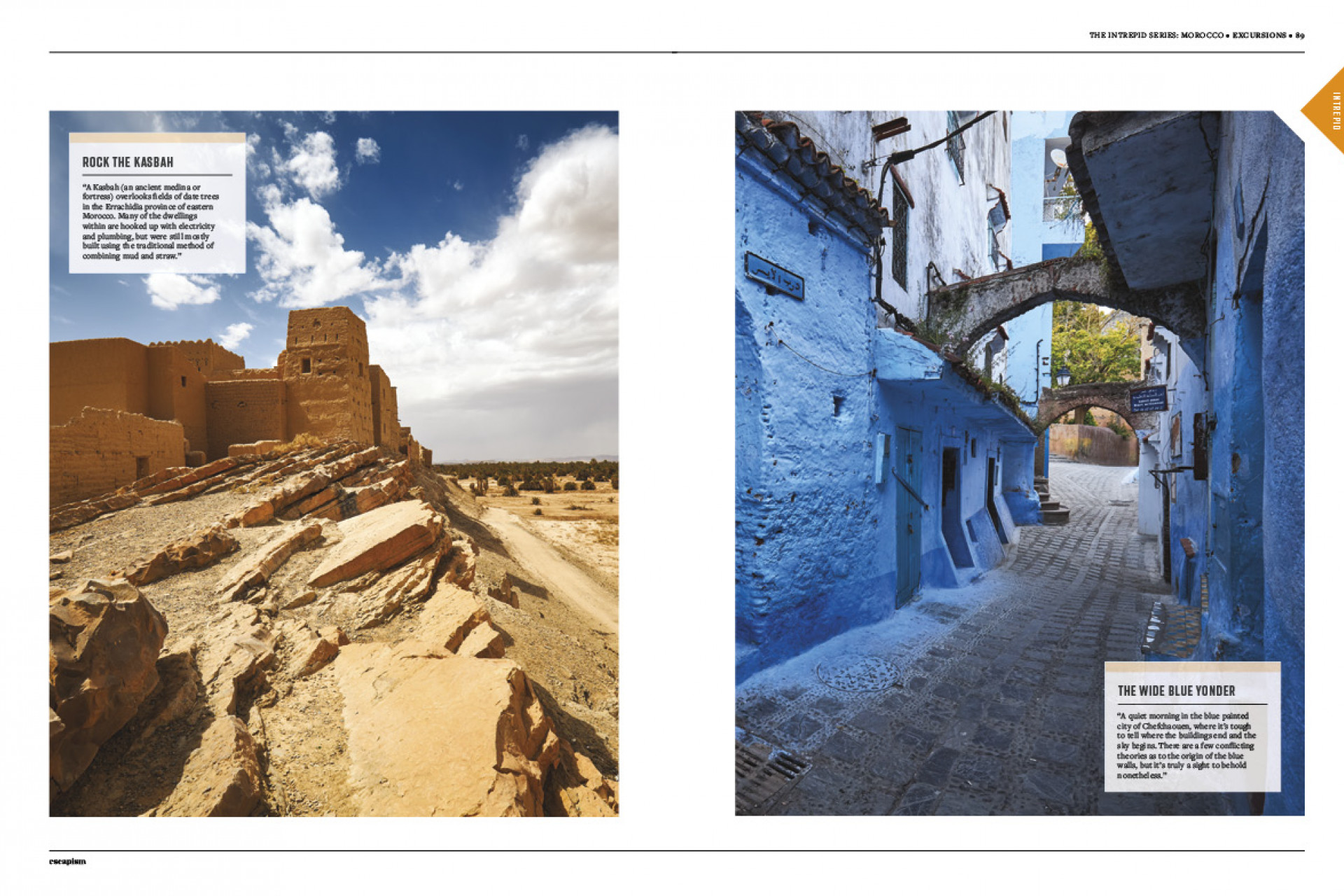 Escapism 10 – The Great Canadian Issue | A photo series from Morocco pages 2-3
