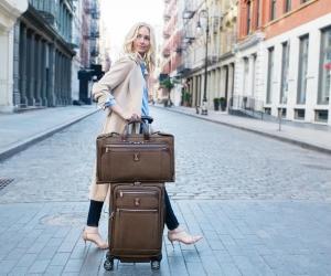 TravelPro Platinum Elite Tri-Fold Carry-On