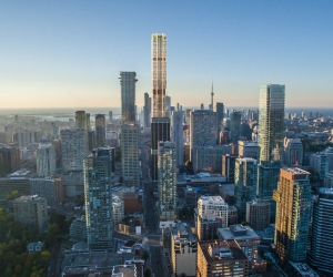 Toronto's newest hotel is set to be the tallest building in Canada.