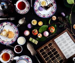 High tea in Victoria, B.C.