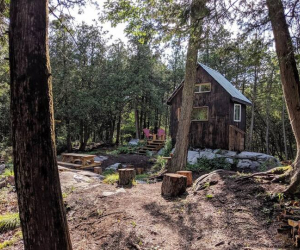 Ontario's coolest cabins to rent | Black Bird Cabin on Sharbot Lake