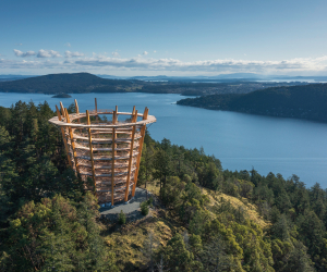The Malahat Skywalk in Vancouver