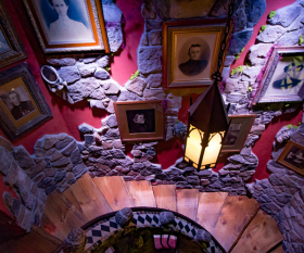 Adventure Suites haunted house hotel in New Hampshire