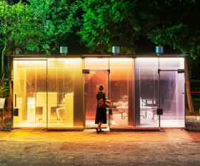 Japan's latest tourist attraction: Tokyo's transparent public toilets