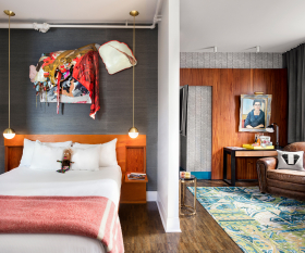 The Drake Hotel Toronto   Suite interior
