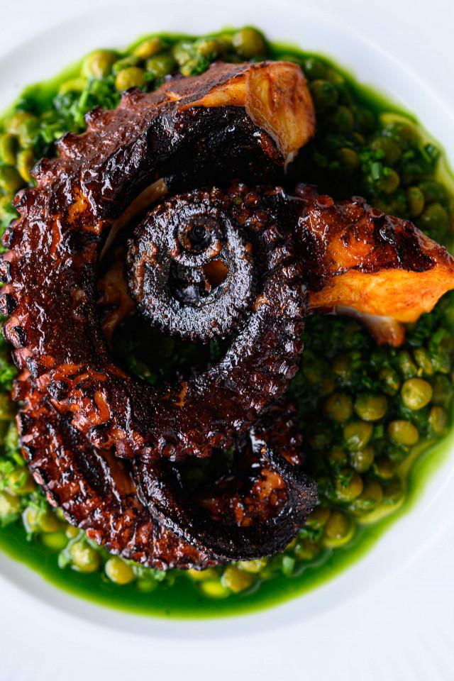 best restaurants Halifax: Bar Kismet octopus