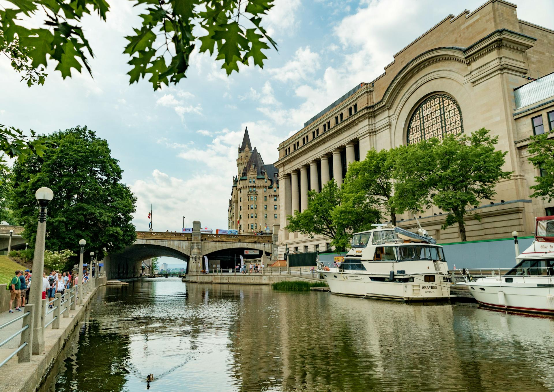 The best things to do in Ottawa, Ontario | View from the Rideau Canal