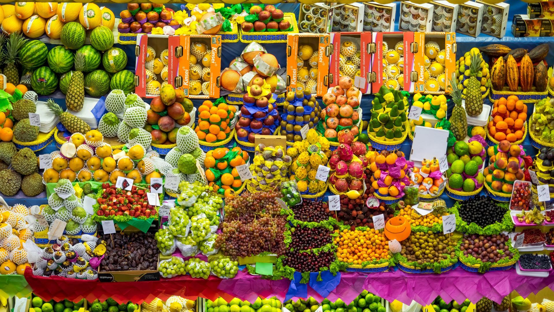Fruit market Sao Paulo