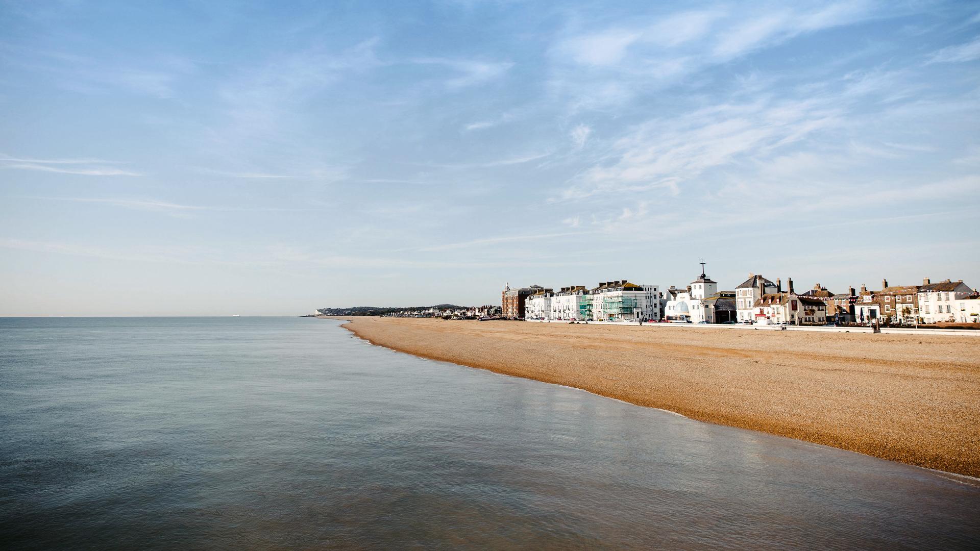 The Kent Coast, U.K.  