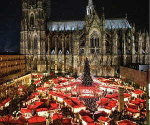 Cologne Germany Christmas Market photo