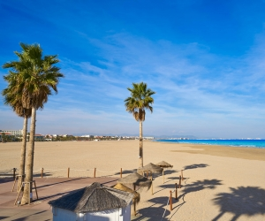 Hot Shots: La Malvarrosa Beach, Spain