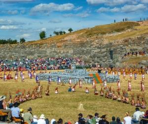 Hot Shots:  Inti Raymi Festival, Peru