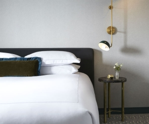 Kimpton St George Hotel review | a bedroom