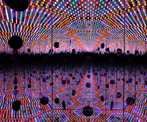 The Art Gallery of Ontario is getting a permanent Infinity Mirrors exhibition.