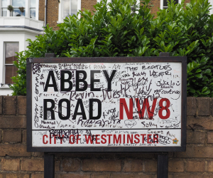 The Beatles' Abbey Road crossing gets a repaint