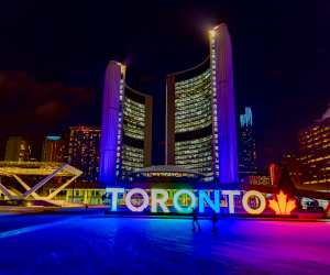 Best Things to do in Toronto this March | Skating at Nathan Phillips Square