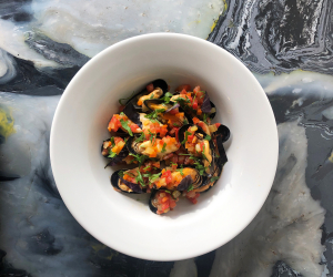 The Kent Coast, U.K. | Fresh mussels at Dory's in Margate